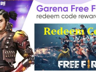 Free Fire Redeem Code Today 2021